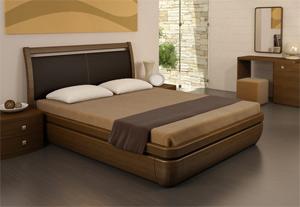 Кровать Торис Тау-классик L11 (Стино) кожа