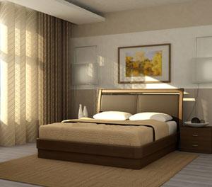 Кровать Торис Юма E11 (Стино) экокожа