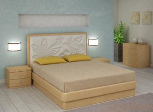 Кровать Торис Юма E4 (Эсти) экокожа