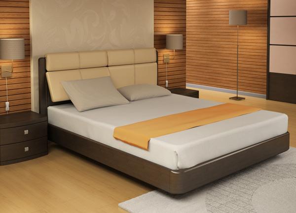 Кровать Торис Юма R1 (Сонеро) кожа