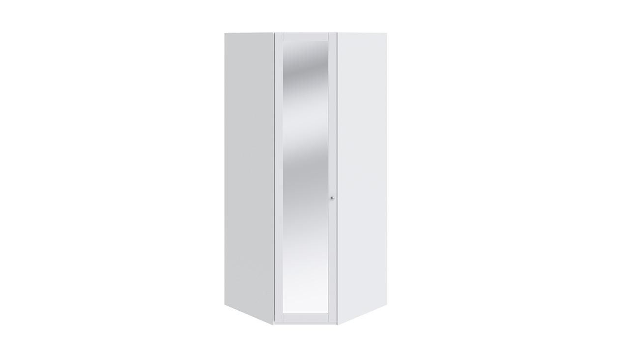 Шкаф угловой трия ривьера см 241.07.003 с 1-ой дверью с зерк.