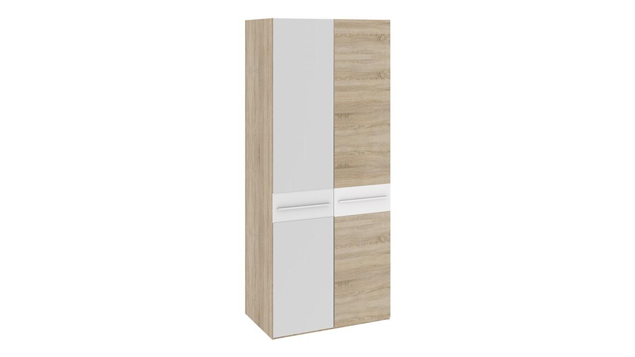 Шкаф для одежды триЯ ларго см-181.07.004 с 1-й глухой и 1-й .