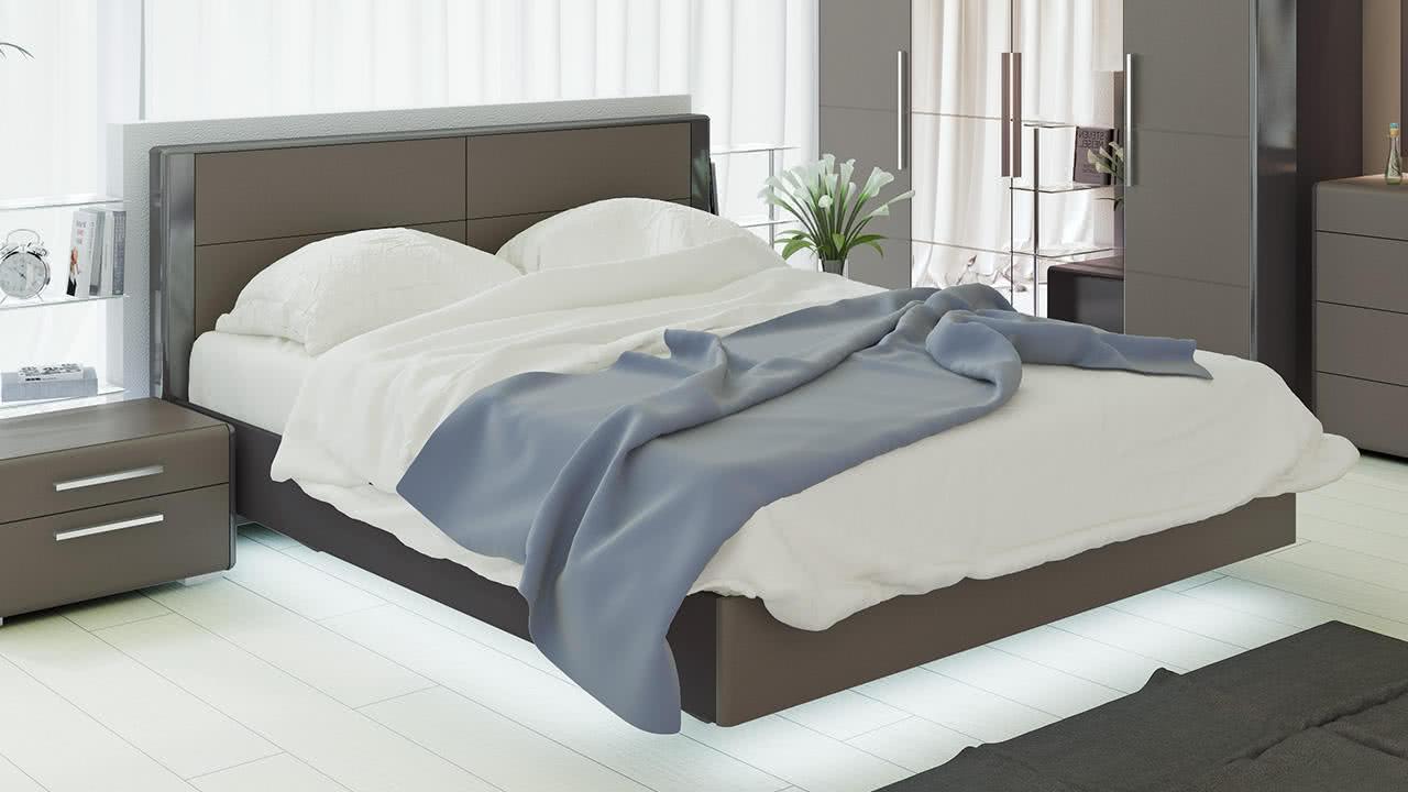 Кровать ТриЯ Наоми, СМ-208.01.01 (160)