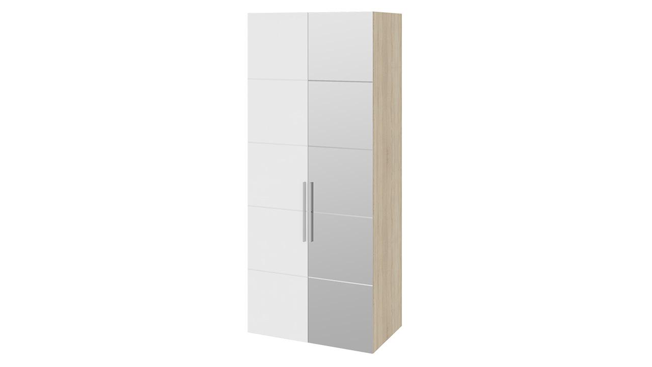 Шкаф ТриЯ Ларго Люкс для одежды с 1-й глухой и 1-й зеркальной дверями правый, СМ-181.07.011 R