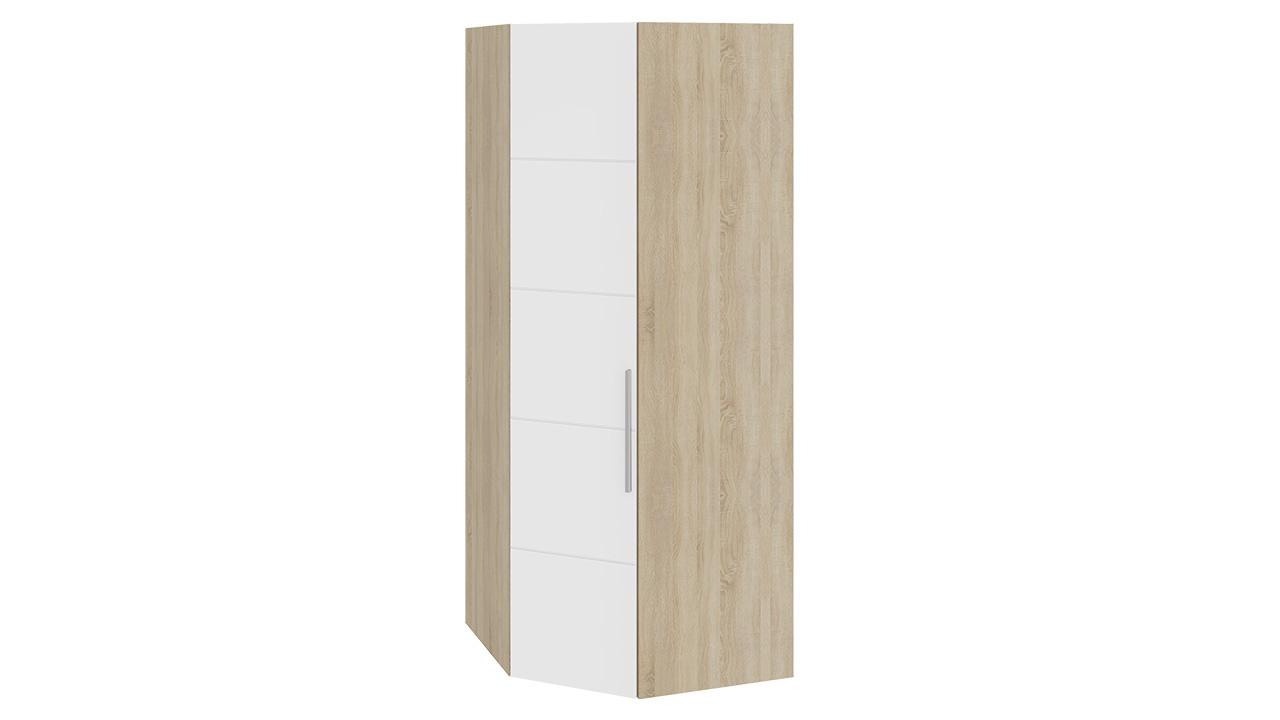 Шкаф ТриЯ Ларго Люкс угловой  для одежды левый, СМ-181.07.013 L