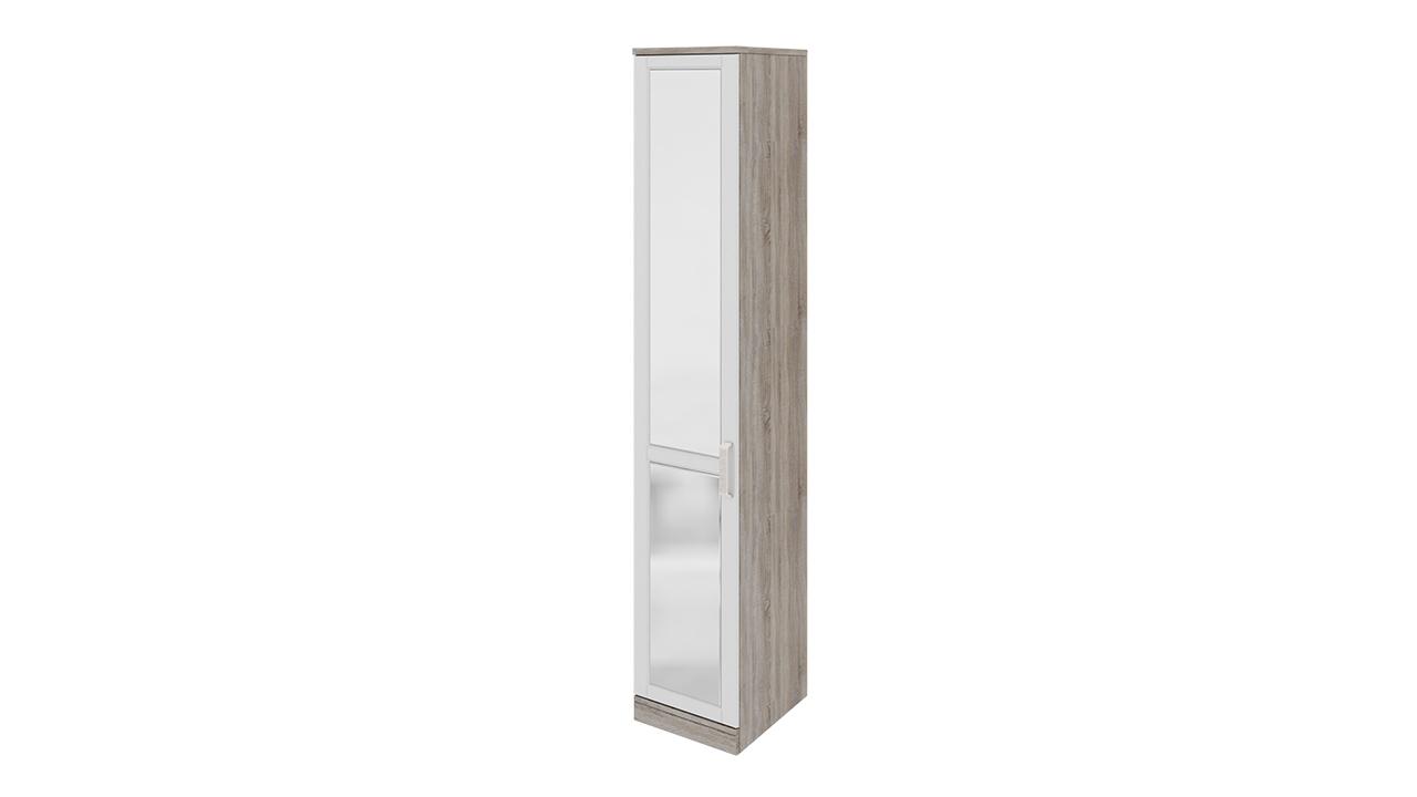 Шкаф ТриЯ Прованс торцевой с 1-ой зеркальной дверью левый, СМ-223.07.009L
