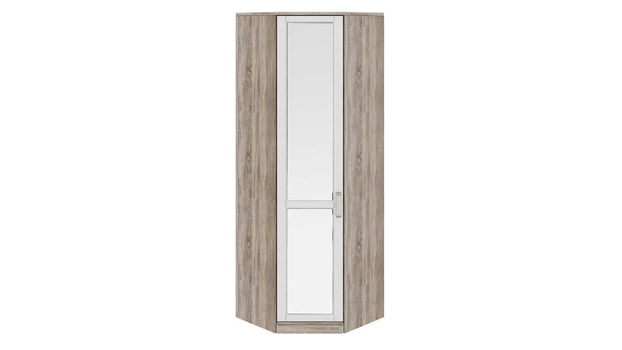 Шкаф угловой с 1-ой зеркальной дверью левый ТриЯ Прованс, СМ-223.07.027L