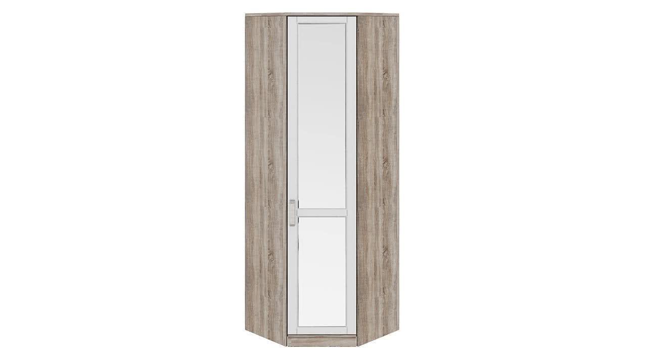 Шкаф угловой с 1-ой зеркальной дверью правый ТриЯ Прованс, СМ-223.07.027R