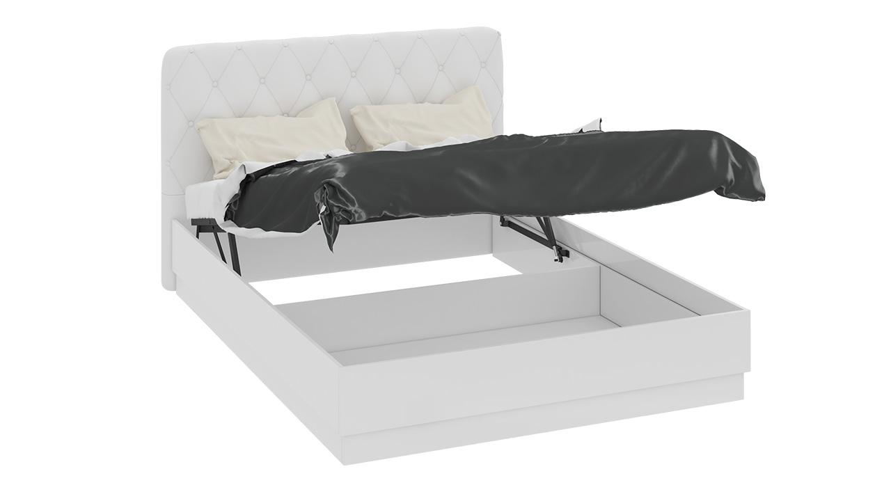 Кровать ТриЯ Амели с подъемным механизмом и мягкой спинкой, СМ-193.02.004 (140)