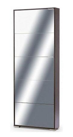 Тумба для обуви Vental Viva 5 (стекло, зеркало)