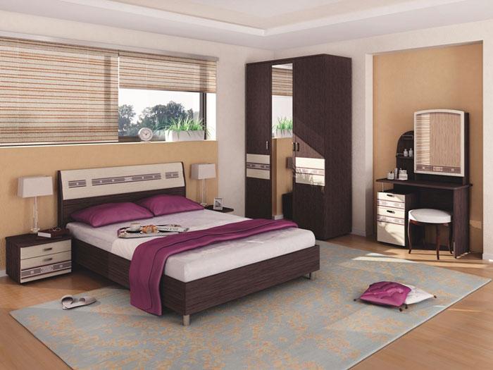 Спальня Ривьера Витра, комплектация 1