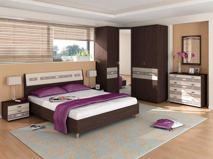 Спальня Ривьера Витра, композиция 3