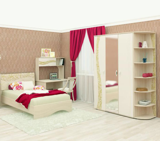 Спальня Витра Соната, комплектация 4