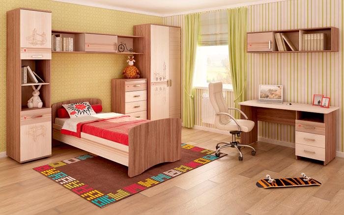 Набор мебели для детской Витра Британия, комплектация 2