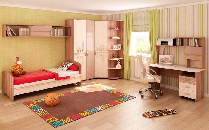 Набор мебели для детской Витра Британия, комплектация 3