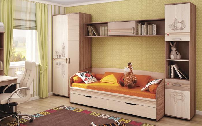 Набор мебели для детской Витра Британия, комплектация 4