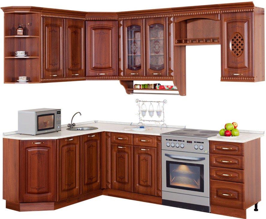 Кухня Витра Глория 6 угловая (170х220)