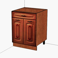 Стол с ящиком Витра Глория, 06.58.2