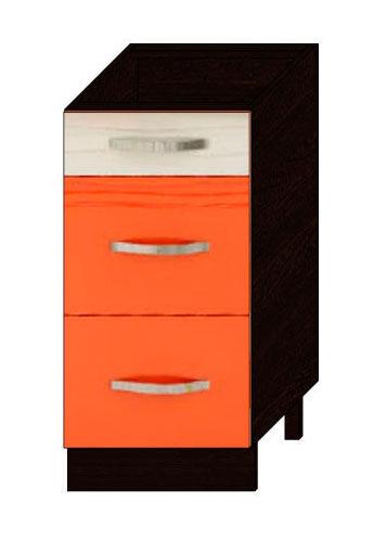 Стол 40 с 3-мя ящиками Витра Оранж-9, арт.09.59