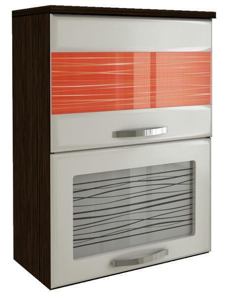 Шкаф-витрина 60 с подъемником Витра Оранж-9, арт.09.80