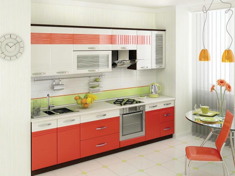 Кухня Витра Оранж 9 (300)