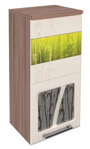 Шкаф-витрина 40 Витра Тропикана-17, арт.17.04