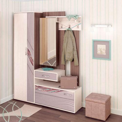 Набор мебели для прихожей Витра Лаура, комплектация 2