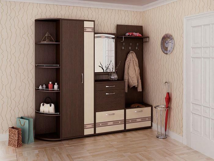 Набор мебели для прихожей Триумф Витра, комплектация 3