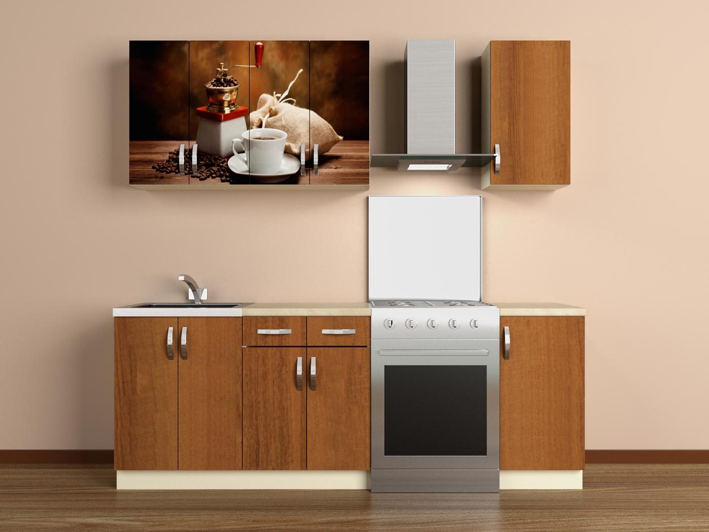 Кухонный гарнитур ВиВера 2000 с.03