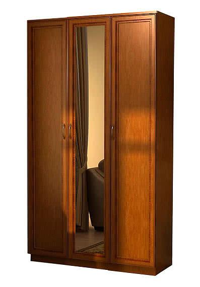 Шкаф для белья Гарун 106 с одним зеркалом