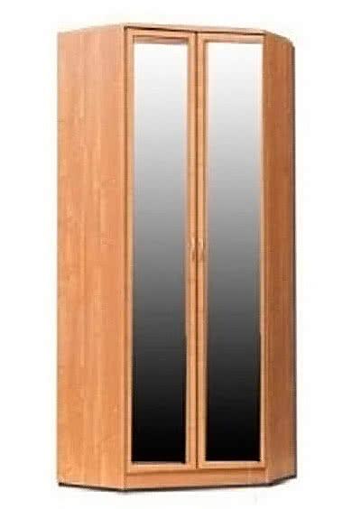 Шкаф угловой 403 с 2-мя зеркалами