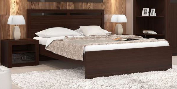 Кровать 140 Заречье Модена, мод. М9б