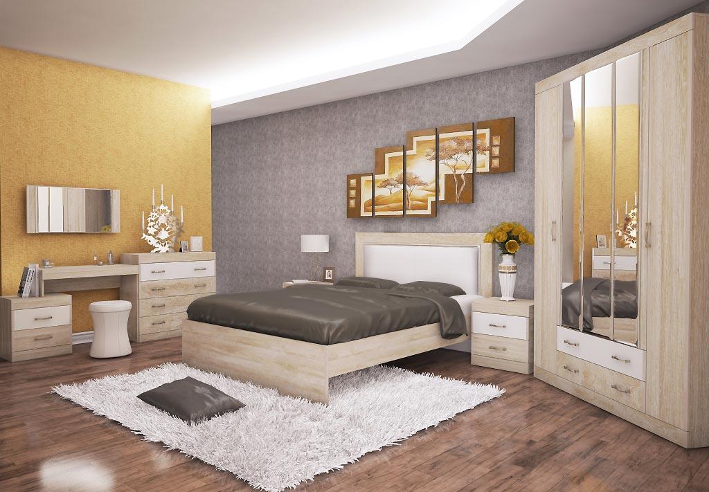 Спальня Заречье Ника, комплектация 2
