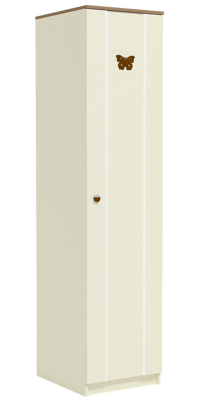 Шкаф для белья (5 полок, штанга) Заречье Юниор, мод Ю4