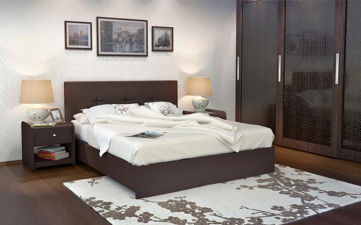 Кровать Isabella с подъемным механизмом, 2 категория с матрасом Farma NEW в Казани