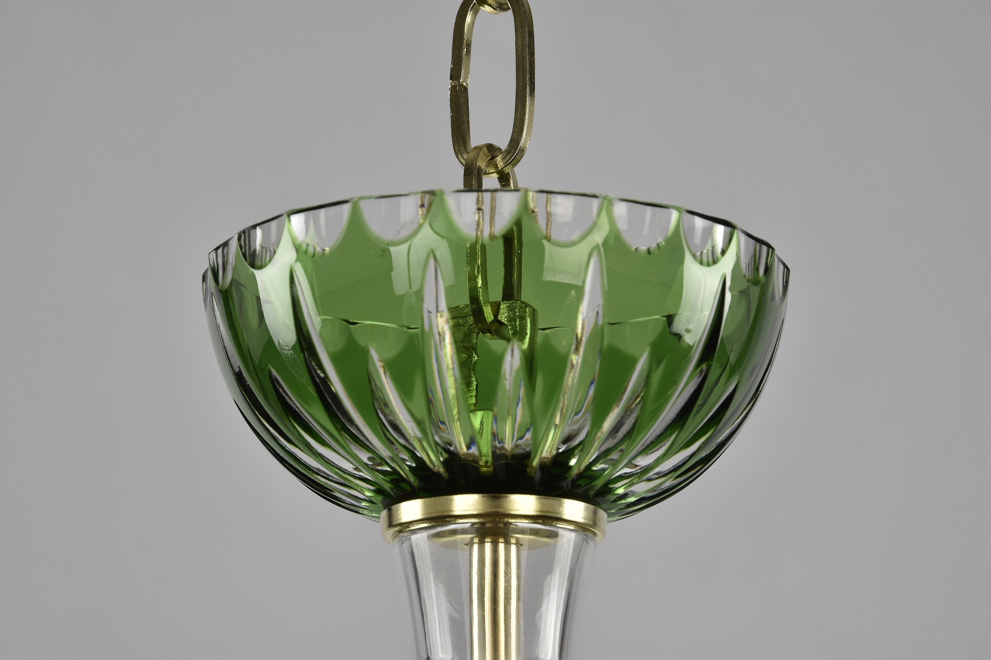 Подвесная люстра Bohemia Ivele Crystal Ivele Crystal 2 1309/8/240 G Cl/Clear-Green/H-1J