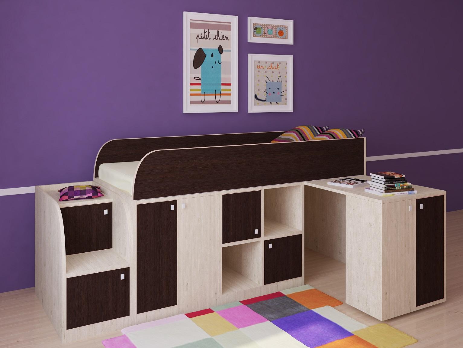 Кровать чердак для мальчика в картинках