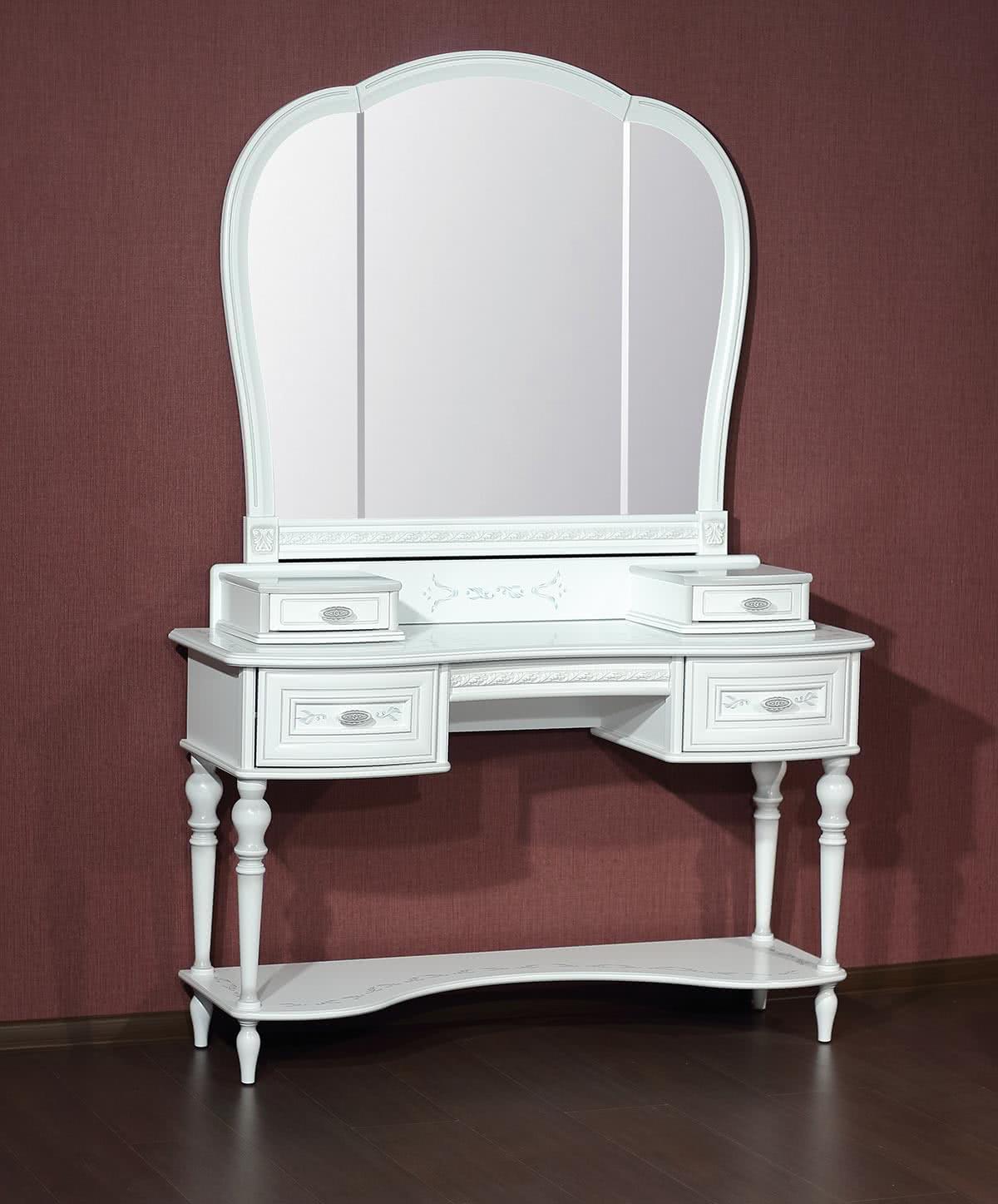 Стол туалетный Юта Милан 92-01+ 94-01+21-01 — купить недорого в mebHOME. Цены от производителя. Размеры и фото. Отзывы.